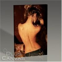 Pluscanvas - Beautiful Womans Back Tablo