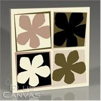 Pluscanvas - Four Flowers Tablo