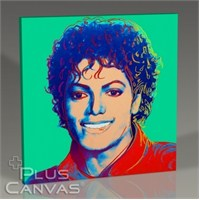 Pluscanvas - Andy Warhol - Michael Jackson Tablo