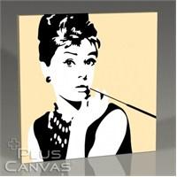 Pluscanvas - Audrey Hepburn - Pop Art Iıı Tablo