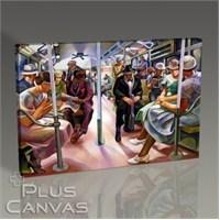 Pluscanvas - Subway 1934 Tablo