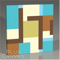 Pluscanvas - Colored Blocks Tablo