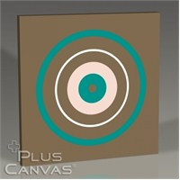 Pluscanvas - Chic Circle Tablo