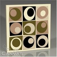 Pluscanvas - Nine Circles Tablo