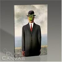 Pluscanvas - Rene Magritte - Son Of Man Tablo