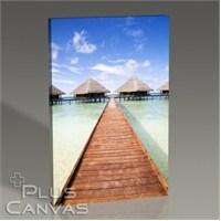 Pluscanvas - Maldives - Tropical Beach Tablo