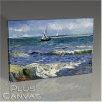 Pluscanvas - Vincent Van Gogh - Seascape Near Les Saintes-Maries-De-La-Mer Tablo