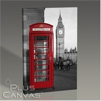 Pluscanvas - London - Phone Booth Tablo