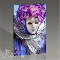 Pluscanvas - Carnival Mask İn Venice Iı Tablo