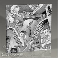 Pluscanvas - Mc Escher - Relativity Tablo