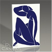 Pluscanvas - Henri Matisse - Nu Bleu Iı - 1952 Tablo