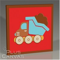 Pluscanvas - Truck Tablo