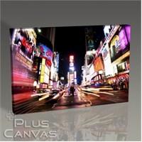 Pluscanvas - New York - Times Square İn Colors Tablo