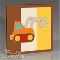 Pluscanvas - Steam Shovel Tablo