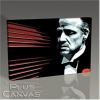Pluscanvas - The Godfather - Marlon Brando Tablo