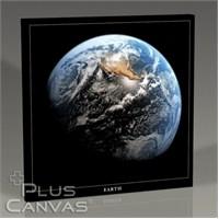 Pluscanvas - Earth From The Moon Iı Tablo