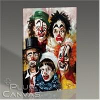 Pluscanvas - Clowns Tablo