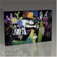 Pluscanvas - Pablo Picasso - Night Fishing At Antibes Tablo