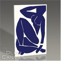 Pluscanvas - Henri Matisse - Nu Bleu Iıı - 1952 Tablo