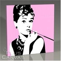 Pluscanvas - Audrey Hepburn - Pop Art Tablo