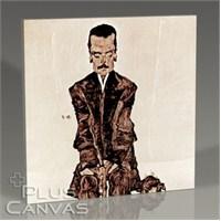 Pluscanvas - Egon Schiele - Portait Tablo
