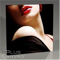 Pluscanvas - Red Lips Iv Tablo