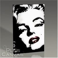 Pluscanvas - Marilyn Monroe - Glamorous Pop Art Tablo