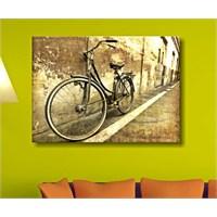 Bisiklet Dekoratif Kanvas Tablo