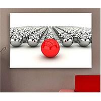Kırmızı Top Kanvas Tablo