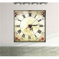 Roma Rakamlı Tablo Saat