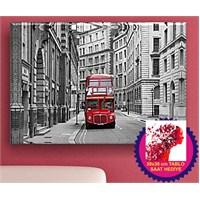 Arte Londra Çift Katlı Otobüs Kanvas Tablo