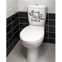 Dekorjinal Banyo Sticker Ban22