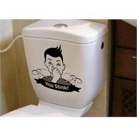 Dekorjinal Banyo Sticker Wc16