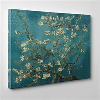 Tabloshop - Van Gogh - Blossoming Almond Tree Canvas Tablo - 75X50cm