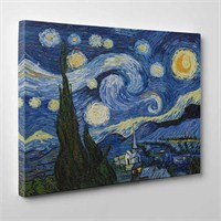 Tabloshop - Van Gogh - Starry Night Canvas Tablo - 75X50cm