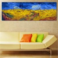 Tabloshop - Van Gogh - Wheat Field Canvas Tablo - 90X30cm