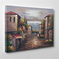 Tabloshop - Eski Istanbul Sokakları Canvas Tablo - 75X50cm