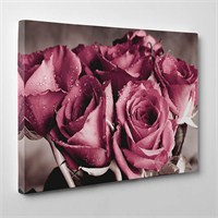 Tabloshop - Roses Canvas Tablo - 75X50cm