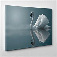 Tabloshop - Kuğu Canvas Tablo - 75X50cm