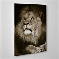 Tabloshop - Aslan Canvas Tablo - 75X50cm