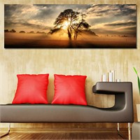 Tabloshop - Lonely Tree Canvas Tablo - 90X30cm