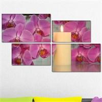 Tabloshop - Relaxing 4 Parçalı Canvas Tablo 143X83cm