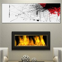 Tabloshop - Abandon Iı Canvas Tablo - 90X30cm