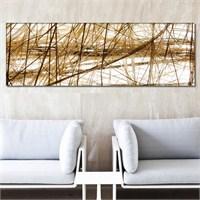 Tabloshop - Sisal Canvas Tablo - 90X30cm