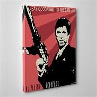 Tabloshop - Al Pacino - Scarface Canvas Tablo - 75X50cm