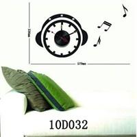 Karin Stickerli Tasarım Saat-59Cmx39cm