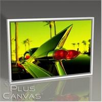 Pluscanvas - Siyah Cadillac Tablo
