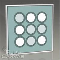 Pluscanvas - Nine Spots Tablo