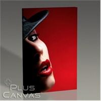 Pluscanvas - Red Lips Iı Tablo
