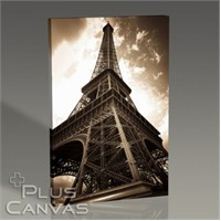 Pluscanvas - Paris - Eiffel Tower Perspective Iı Tablo
